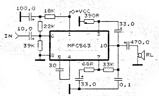 4 - 20 Volts Amplifier Circuit