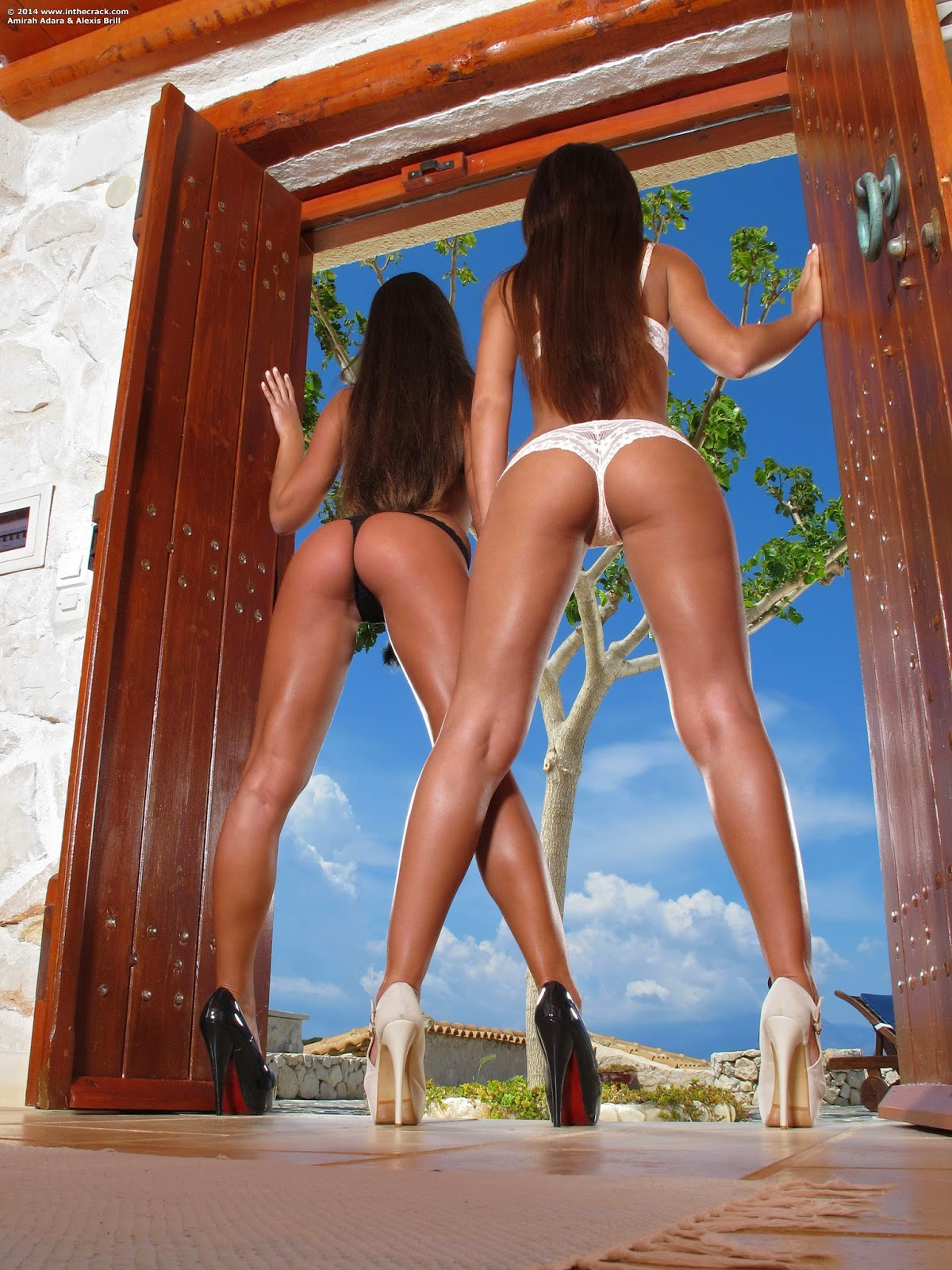 Amirah Adara And Alexis Brill The Crack 987 Photo Set