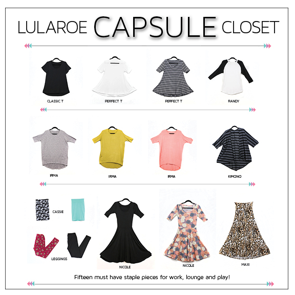 Mcthrifter Lularoe On A Budget Capsule Closet Style