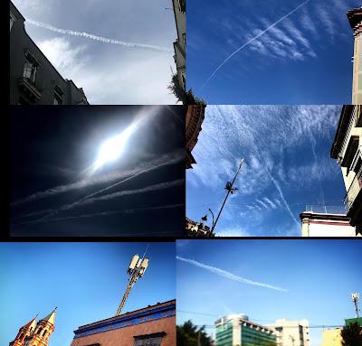 La tecnología haarp formaría parte de un plan de geoingeniería en el que se estaría esparciendo metales en la atmósfera para que manipular la atmósfera y el clima usando antenas que crearían algo así como radiadores en el cielo. En inglés a estas fumigaciones las llaman chemtrails