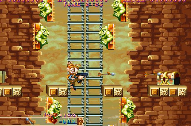 Three Wonders Clown Stairs Screenshot