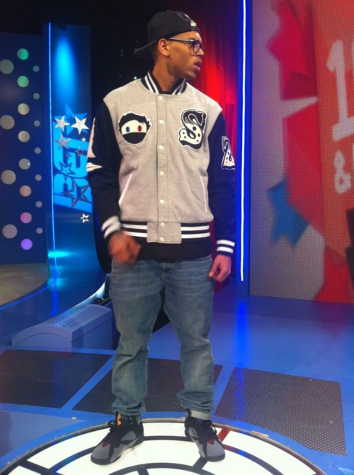 cebd575c9e1801 ... reduced breezy swagg this is the out fit chris brown on 106air jordan  retro 7 879db