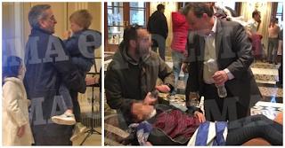 Εικόνες χάους στο Συλλαλητήριο: Άνοιξαν ξενοδοχείο για να μπουν παιδιά που πνίγηκαν από τα χημικά! ΕΙΚΟΝΕΣ