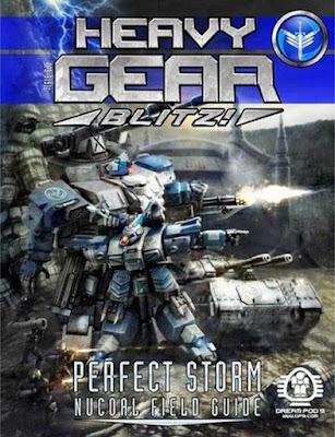 Heavy Gear Blitz! Perfect Storm: NuCoal Field Guide