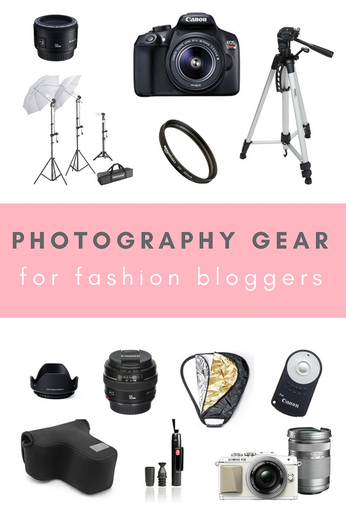 The Best Photography Gear for taking fashion blogger outfit photos