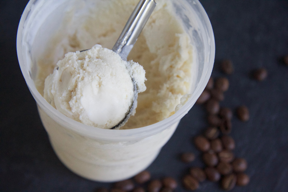 Coffee Ice Cream || A Less Processed Life