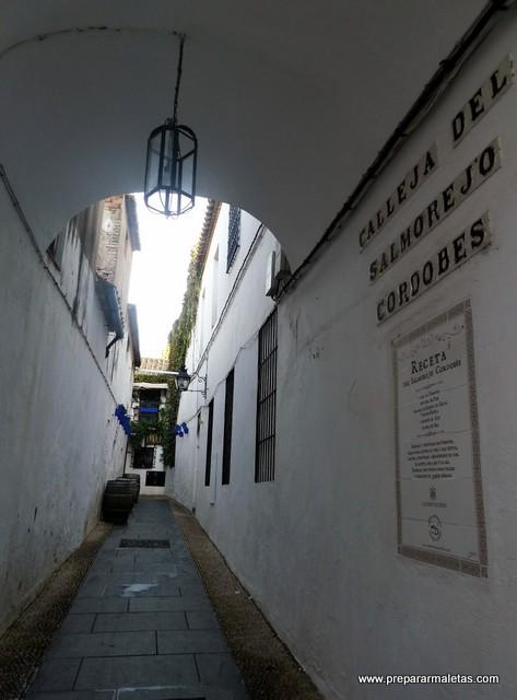 Calleja del Salmorejo Cordobés