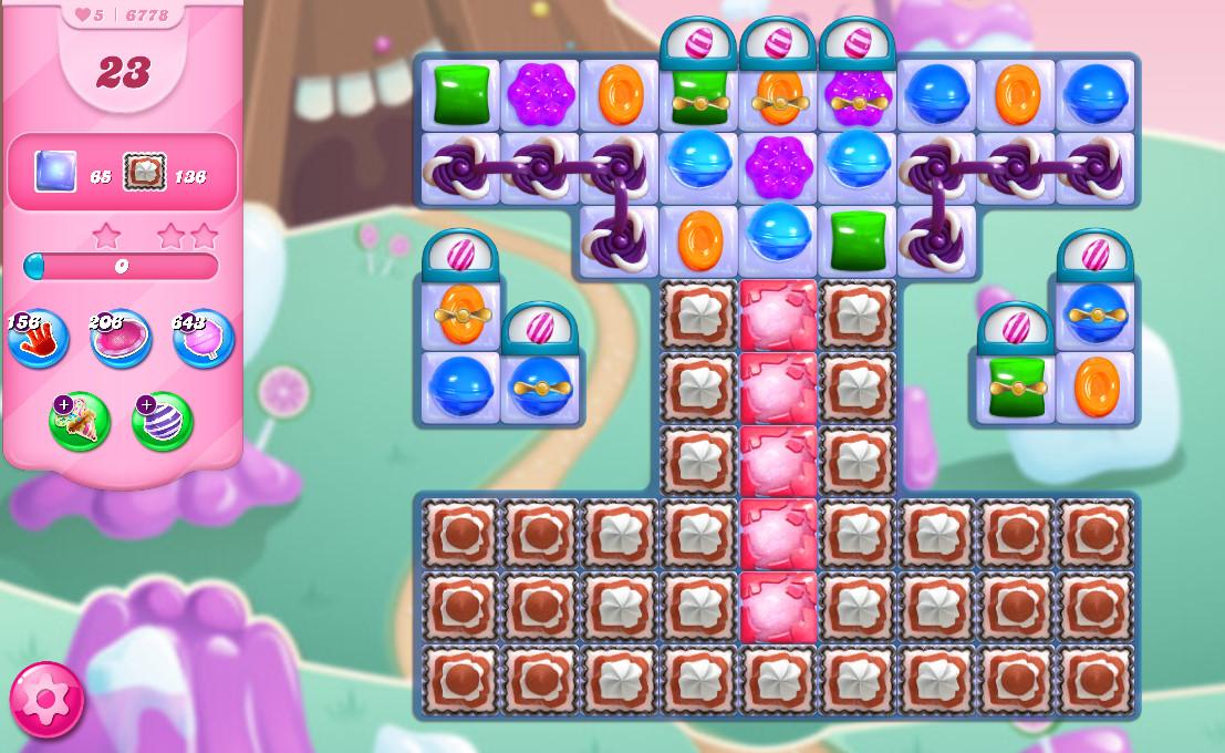 Candy Crush Saga level 6748