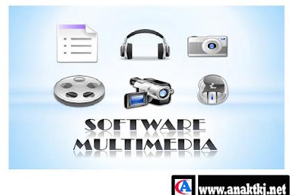 Beberapa Software Multimedia Yang Paling Banyak Di Gunakan