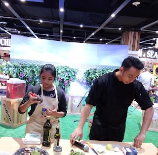 Demo masak bersama Chef Yuda