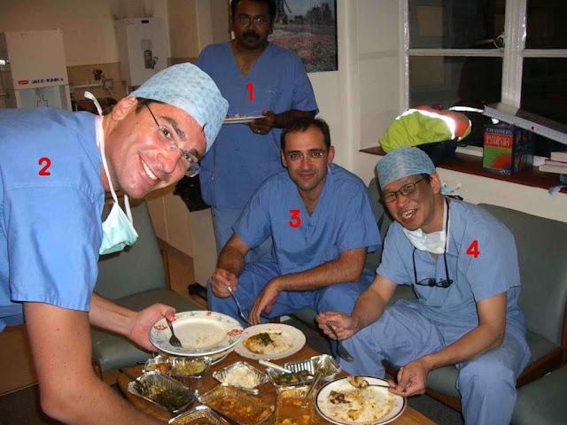 quirófano del Queen Victoria Hospital de Londres