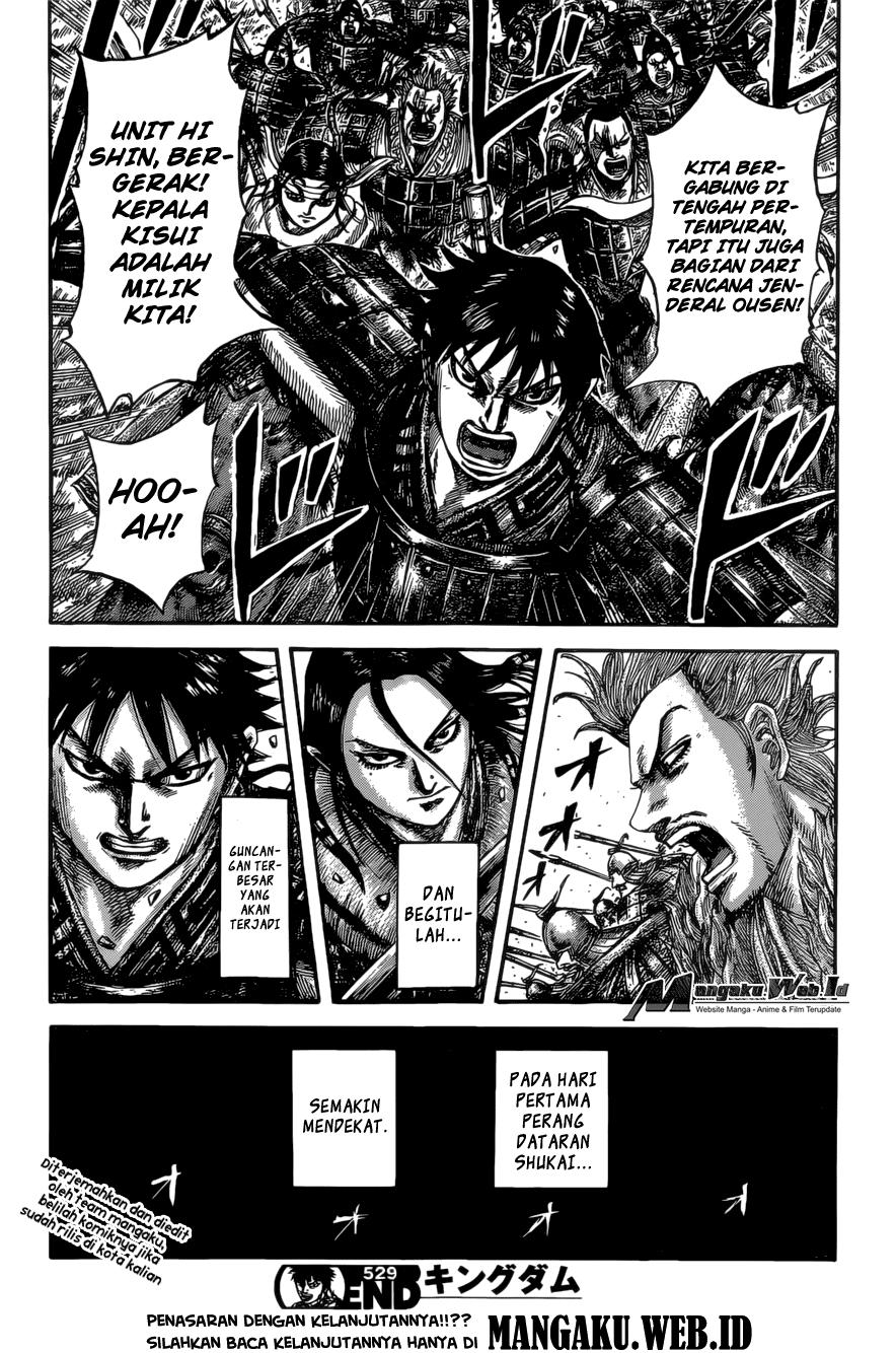 Baca Komik Manga Kingdom Chapter 529 Komik Station