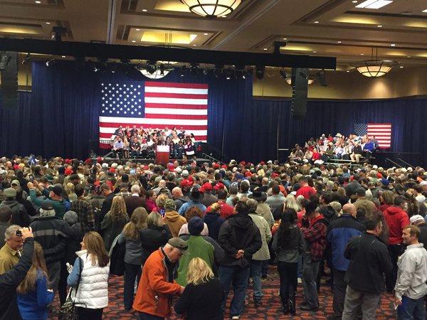 Doing Advance Work: Trump rally in Reno, Nevada, Sunday, Jan