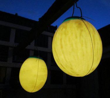 cara bikin lampu dari telur