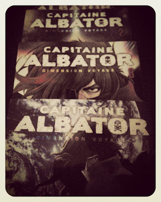 capitaine albator dimension voyage manga