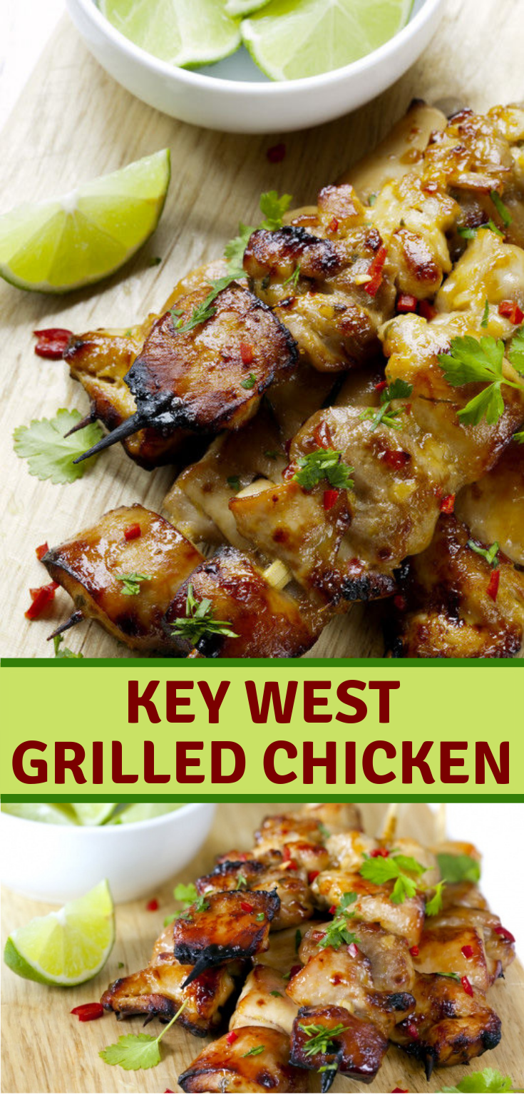 Key West Grilled Chicken #Dinner #Glutenfree