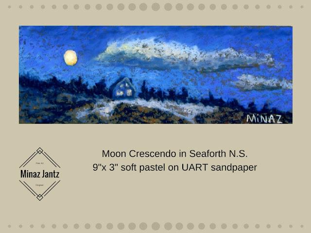 Moon Crescendo in Seaforth NS by Minaz Jantz