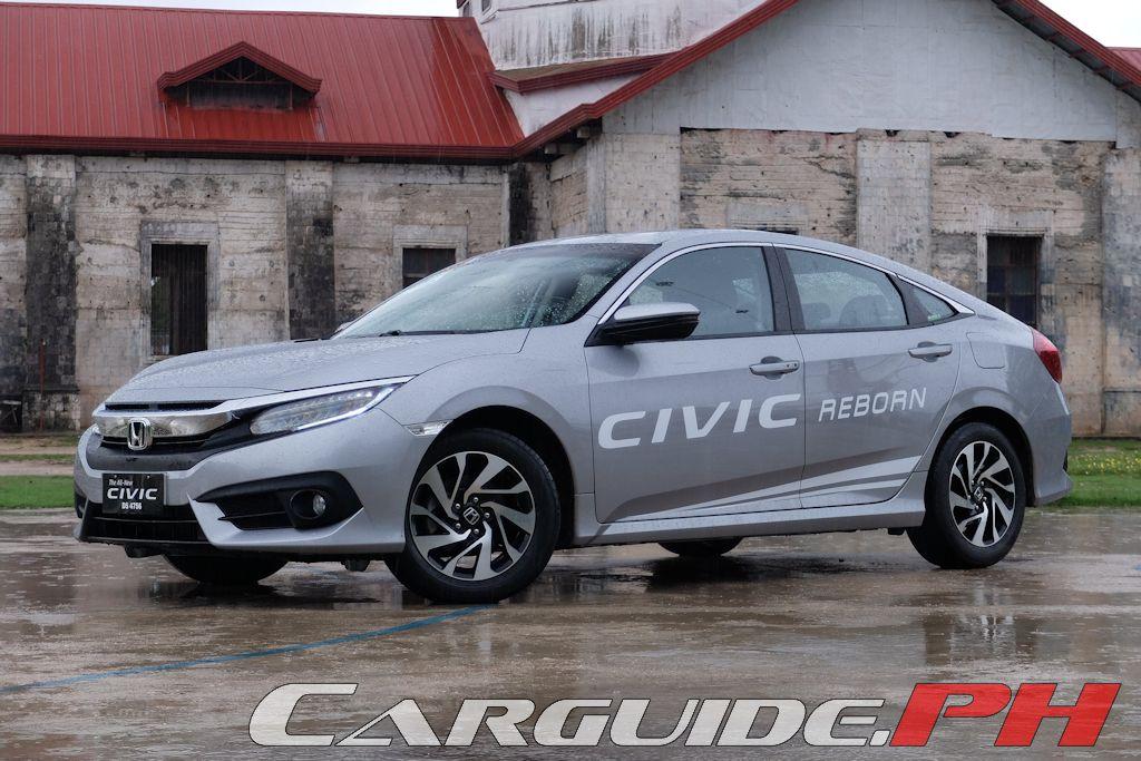 First Drive: 2016 Honda Civic 1 8 E   Philippine Car News, Car