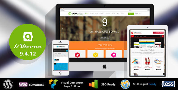 Free Download Corporate Alterna V9.4.12 Ultra Multi-Purpose WordPress Theme