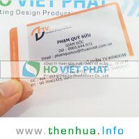 Thẻ Name Card Giám Đốc In 1 Mặt - Thiết Kế Đẹp