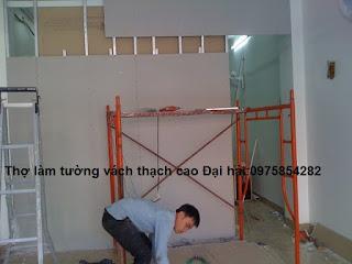 Thợ làm tường thạch cao đẹp chuyên nghiệp có giá rẻ nhất hiện nay