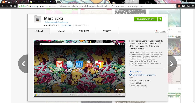 Google themes ecko - Terima Kasih