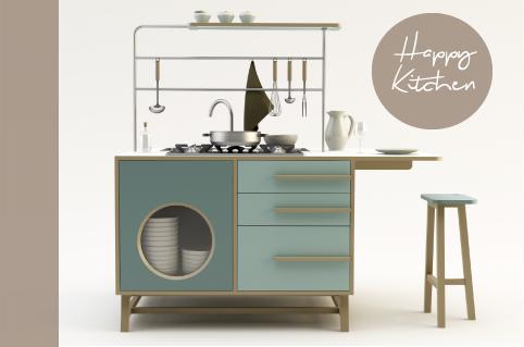 Una cucina da comporre come vuoi | Dettagli Home Decor