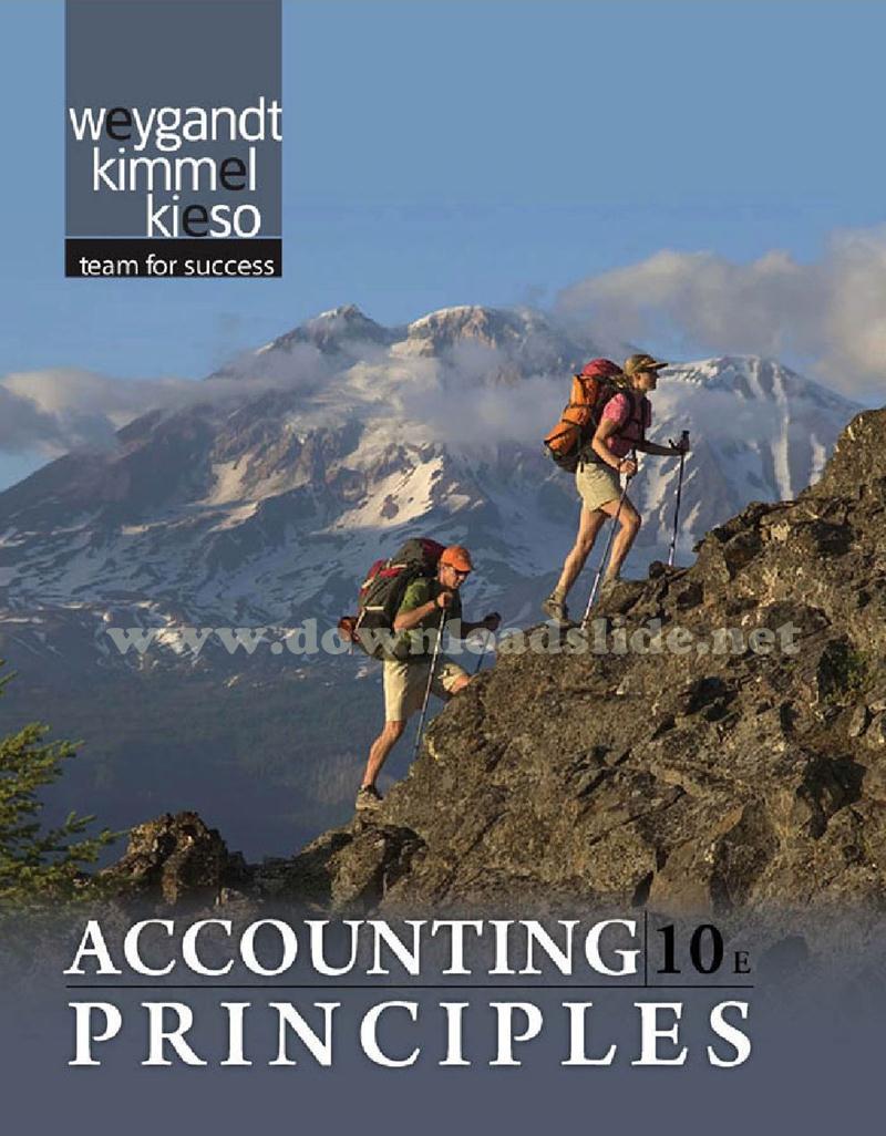 Ebook Accounting Principles 10th Edition by Kieso, Weygandt & Kimmel