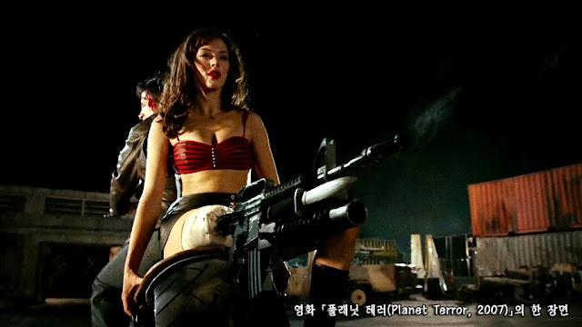 플래닛 테러(Planet Terror, 2007) scene 03