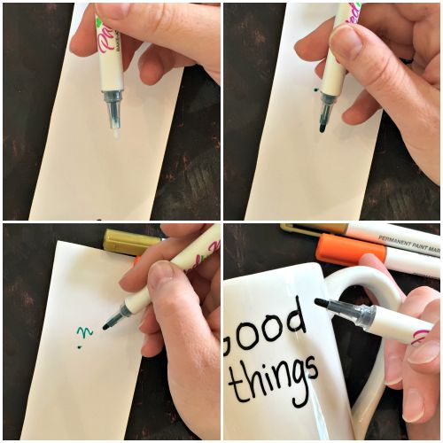 NO Fail DIY Marker Mug