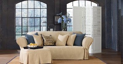 Sure Fit Slipcovers Introducing Our New Ticking Stripe