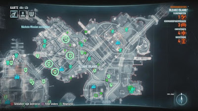 Batman Arkham Knight, Own the roads, Bleak Island, checkpoint Locations Map