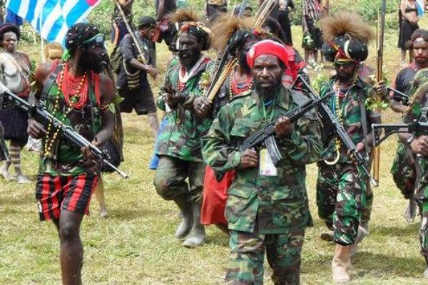 OPM Bantah Menyandera 1.300 Warga Mimika Papua