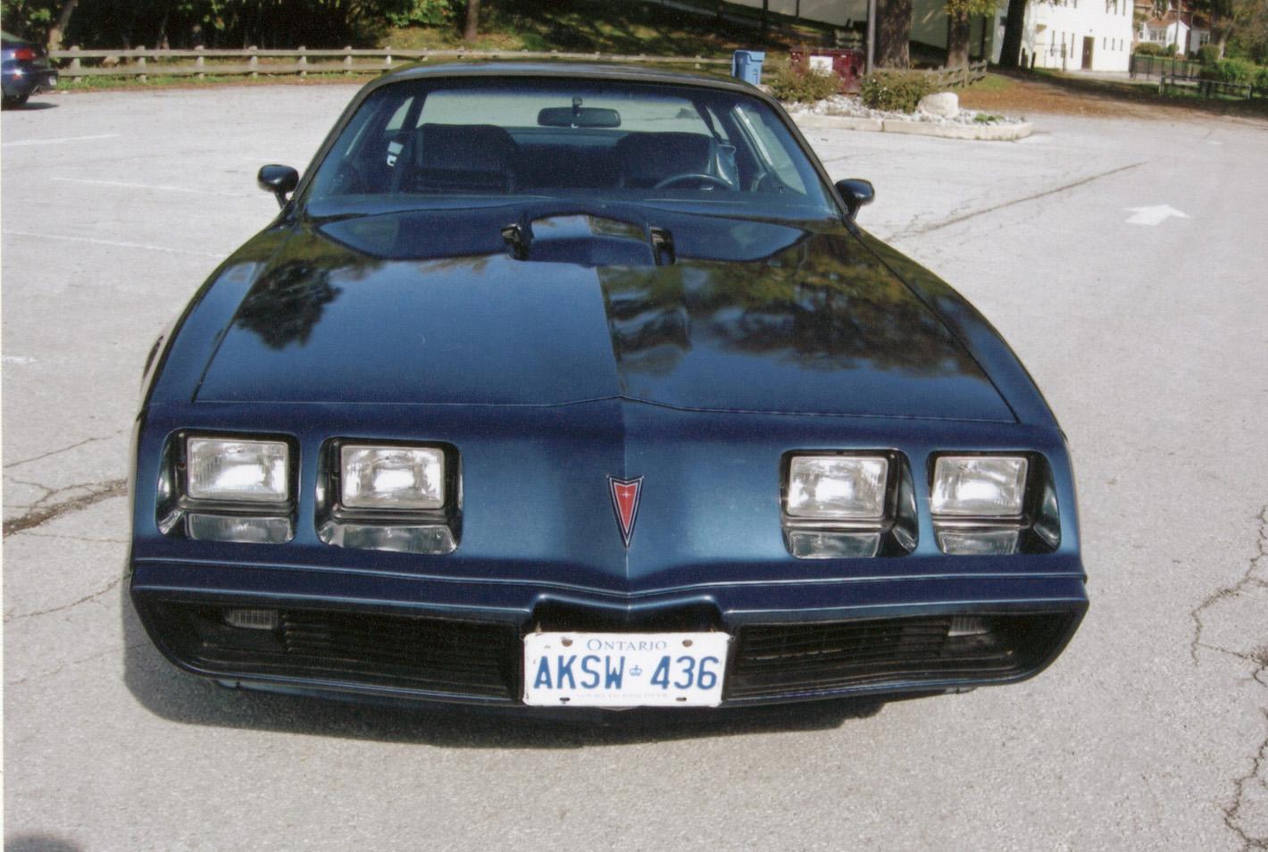 feature car: 1981 pontiac trans am