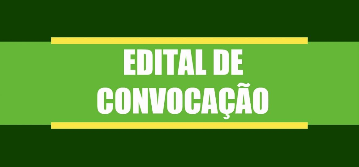 Edital de Convocação - Associação do Distrito Flexal, de Óbidos