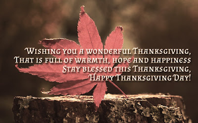 Happy Thanks giving Messages