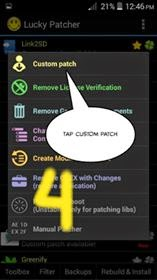 Luckypacther Custom Patch