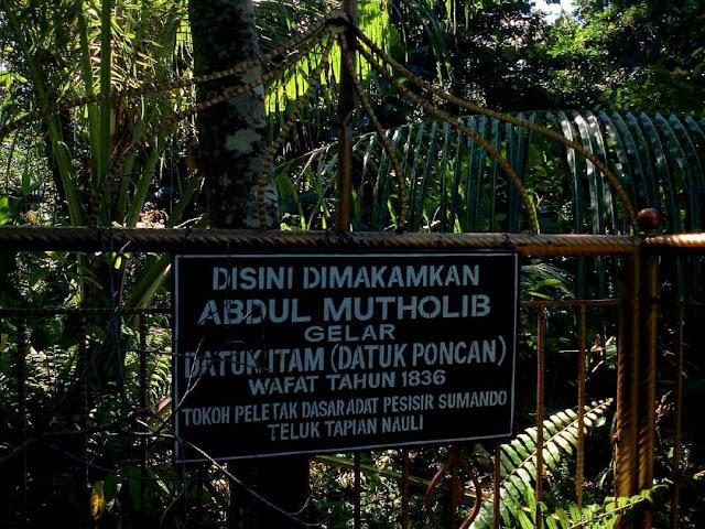 Makan Abdul Muthalib atau Datuk Itam