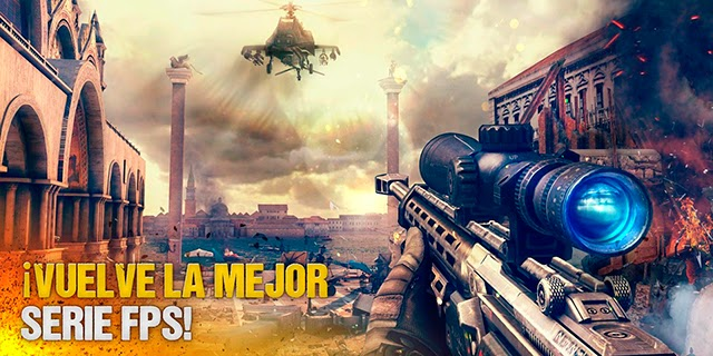 Modern Combat 5: Blackout gratis en Google Play