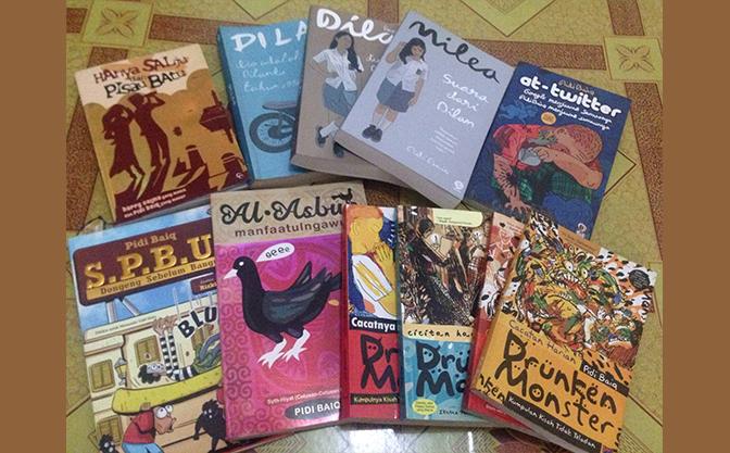 kumpulan buku pidi baiq