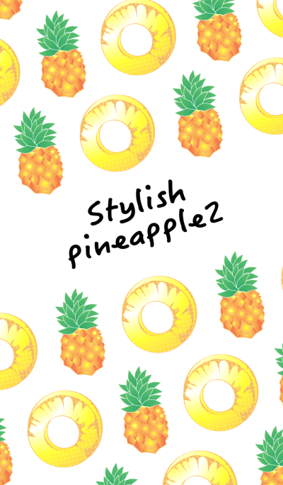 Stylish pineapple 2!