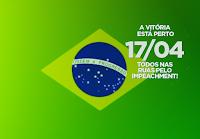 capa bandeira do Brasil vem pra rua abril impeachment, para Puls Google, Twitter ou Face