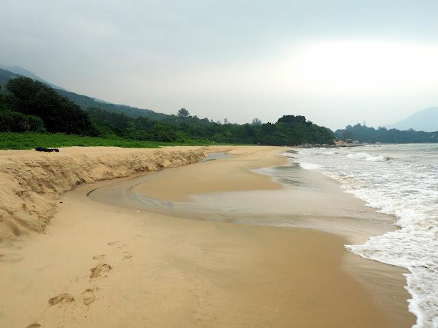 Cheung Sha beach, Lantau Island, Hong Kong