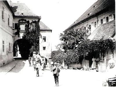 Sibiu - La sfârșitul secolului al XIX-lea, fotografie de epocă