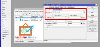 Skenario 2 - QOS Management Bandwidth Pada Mikrotik (Basic)