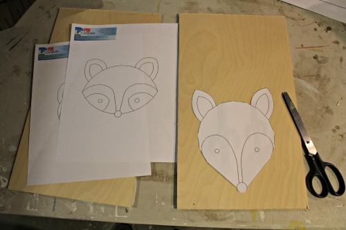 print out animal faces