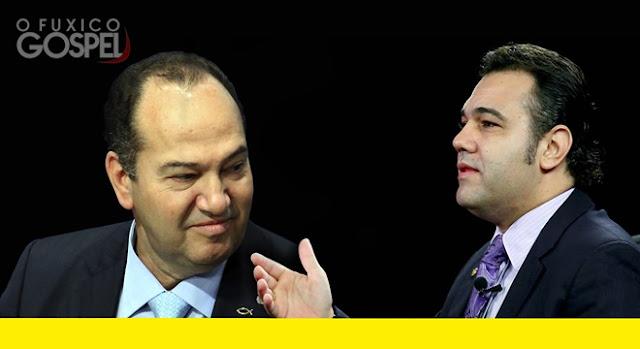 Pastor Everaldo e deputado Marcos Feliciano