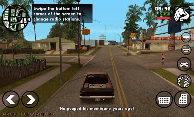 تحميل لعبة Grand Theft Auto: San Andreas للاندرويد كاملة و مهكرة