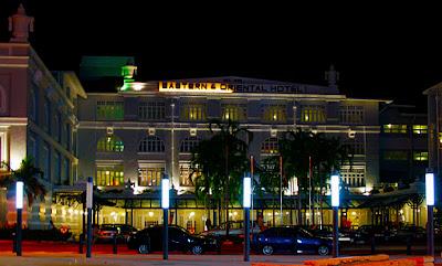 A stylish night at the E & O Hotel