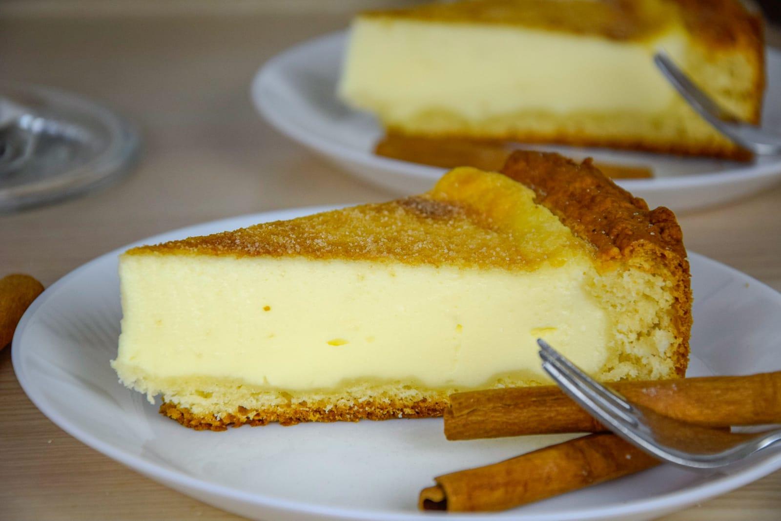 Kiras Bakery Schmandkuchen Mit Quark Ol Teig Cremiger Schmandkuchen Ohne Kuchenmaschiene